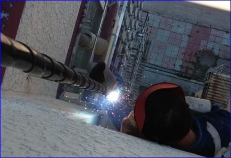 石景山区燃气公司带气焊接施工